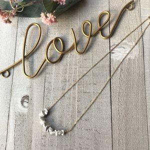 Jewelry - Boho Natural Stone Necklace